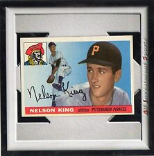 1955 Topps NELSON KING #112 EXMT *fabulous baseball card for your set* m8