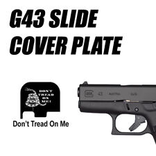 Replacement Slide Cover Plate for Glock G43 - DON'T TREAD ON ME