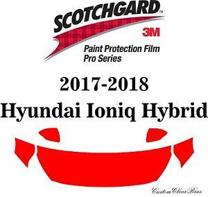 3M Scotchgard Paint Protection Pro Series Fits 2017 2018 Hyundai Ioniq Hybrid