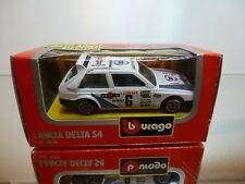 BBURAGO 4135 LANCIA DELTA S4 MARTINI #6 - WHITE 1:43 - GOOD CONDITION IN BOX