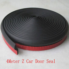 4 Meters Car Door Air Sealed Hollow Rubber Adhesive Strip Weatherstrip Z Look