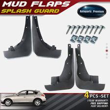 Top 4x Splash Guards Mudflaps Mud Flaps for Infiniti EX35 EX37 QX50 2010-2017