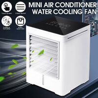 Touch Screen Timing Mini Air Conditioner Water Cooling Fan Artic Cooler  Q