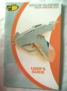 61175 Instruction Booklet - Dream Blaster - Sega Dreamcast (1999)