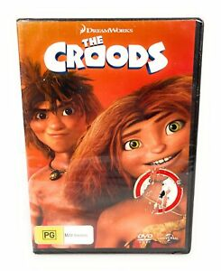 The Croods (DVD) New & Sealed Region 4 Free Postage