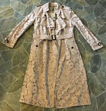 NWT Burberry Lace Trench Coat Gracehill Macrame Nude Sz 14