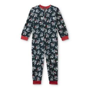 Shark Pajamas Size 6,8,10-12 L,14-16 XL Boy Blanket Sleeper One Piece Union Suit