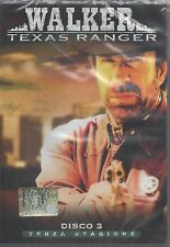 DVD FILM WALKER TEXAS RANGER DISCO 3 TERZA STAGIONE