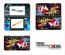 SKIN STICKER AUTOCOLLANT - NINTENDO NEW 3DS - REF 137 YU GI OH