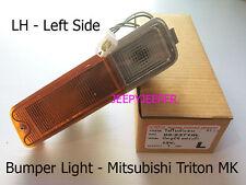 LH Front Bar Indicator Bumper Light Lamp Mitsubishi Triton MK L200 Pickup 96-06