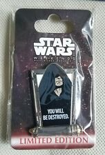 Disney Star Wars Weekends 2012 Pin-Lightsaber Emperor Palpatine Limited Edition