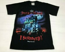 Vtg Disney Mgm The Twilight Zone Hollywood Tower Of Terror T Shirt Sz. S Rare!
