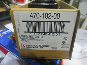 Paragon Electric Co. automatic reset control Model 470-102-00 (on delay)