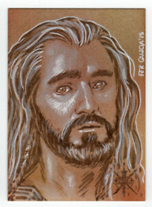 The Hobbit The Battle of the Five Armies - Fer Galicia sketch of Thorin
