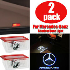 2 LED Logo Door Courtesy Light Ghost Shadow Laser Projector for Mercedes-Benz