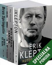 Komplet - Muzicke ikone  Erik Klepton  knjiga 2020 Autobiografija