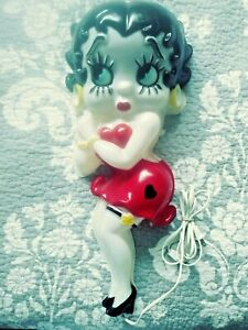 """Vintage BETTY BOOP Wall Hanging Light 24"""" HEADLITES COLLECTABLES"""