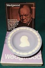 Wedgwood Teller Jasperware Sir Winston Churchill