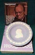 Wedgwood Teller Jasperware Sir Winston Churchill