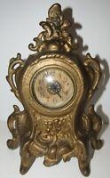 Antique Wind up Desk Clock 30-Hour
