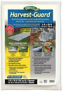 (1Pack) - Dalen HG25 Gardeneer By Harvest-Guard Seed Germination & Frost