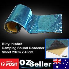 12 Sheets Butyl Rubber Damping Sound Deadener 1.1sqm Automotive Noisy Control OZ
