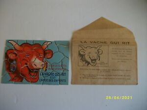 puzzle publicitaire  la vache qui rit