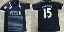 Liverpool Football Shirt  New Balance Black Junior shirt size 152 , 34/36