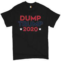 Dump Trump 2020 Men's T-shirt Lock Him Up Vote Democrat Anti Trump  Tee