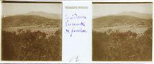 Épidaure Grèce Stereo Félix Sartiaux 45x107mm Plaque pos. ca 1911