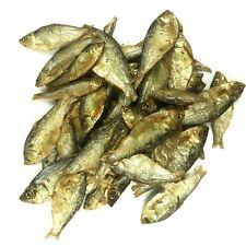 Dried Whole Large Sprats 100% NATURAL BARF Dog Puppy Fish Treats OMEGA 3 & 6