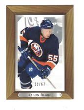 2003-04 Upper Deck Bee Hive Silver #122 JASON BLAKE Hockey Card #52/67