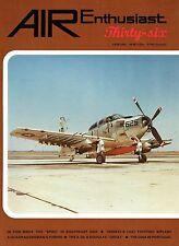 AIR ENTHUSIAST #36 MAY-AUG 88: SKYRAIDER/ HEINKEL He 51/ ILYUSHIN 28/ FIAT G.91
