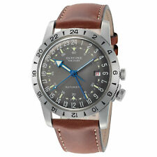 "Glycine Men's GL0183 Airman Vintage ""The Chief"" GMT Automatic 40mm Grey Dial"