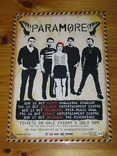 PARAMORE - 2010 Australian Tour - Brand New Eyes Tour - Laminated Promo Poster