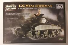 MAQUETTE MODEL KIT 1/72 U.S. M4A1 SHERMAN FORCES OF VALOR
