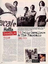 Hello, Goodbye Felix Cavaliere & The Rascals Cutting
