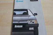 122188) Skoda Favorit - Forman - Pick-Up - Prospekt 199?