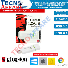 Pendrive Kingston 128 GB USB 3.1 Chiavetta DTIG4 Pendrive G4 DTIG4/128GB