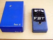 FUZZ FBT Model FZ III FZ-III 3 - chitarra elettrica Pedal Effect Vintage