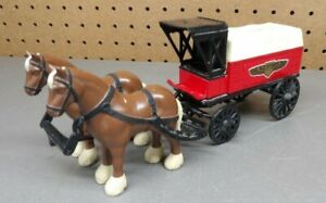 Ertl Horse & Wagon Delivery Ace Hardware Stores 1/24 Scale Bank