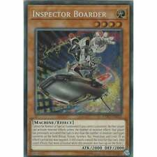 EXFO-DE035 Inspektor Boarder   Secret Rare unlimitiert  neu
