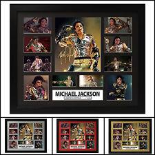 Michael Jackson Signed Framed Memorabilia Limited Ed. 2017 - Multiple Variations