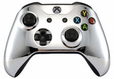 Chrome Silver Xbox One S / X Rapid Fire Modded Controller for COD WW2 & more