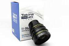 Tokina Cinema ATX 11-20mm T2.9 Wide-Angle Zoom Lens (PL-Mount)