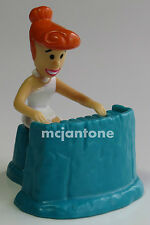 LOOSE Dairy Queen 1997 DQ Flintstone Rock WILMA on KEYBOARD Piano Band Toy