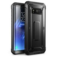 SAMSUNG GALAXY S8 (5.8) SHOCK & DROP PROOF CASE RUGGED BELT CLIP HOLSTER COVER