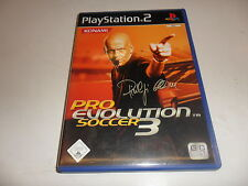 PlayStation 2 PS 2 pro evolution soccer 3