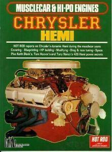 Musclecar & Hi-Po Engines Chrysler Hemi Keith Black'S