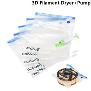 Filament Dryer Storage Vacuum Sealing Bag Safekeeping Humidity Resistant For PLA